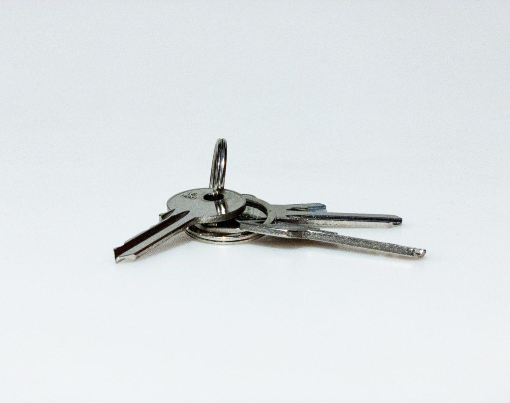 three silver keys