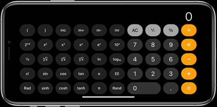 Scientific Calculator Screenshot