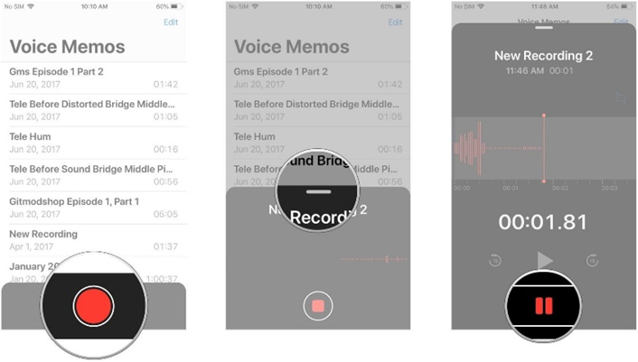 Screenshots of how to use Voice Memos on iPhone and iPad | iMore