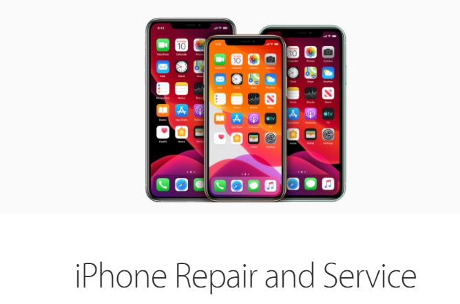 three different model iPhone image