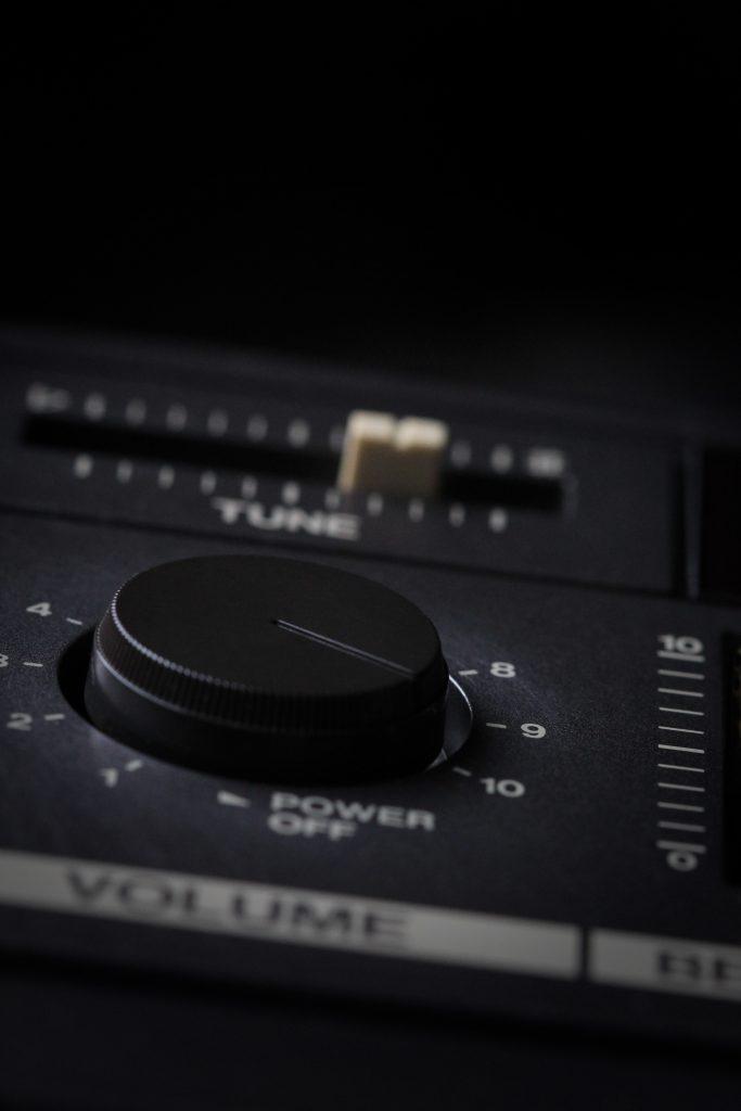 volume control knob